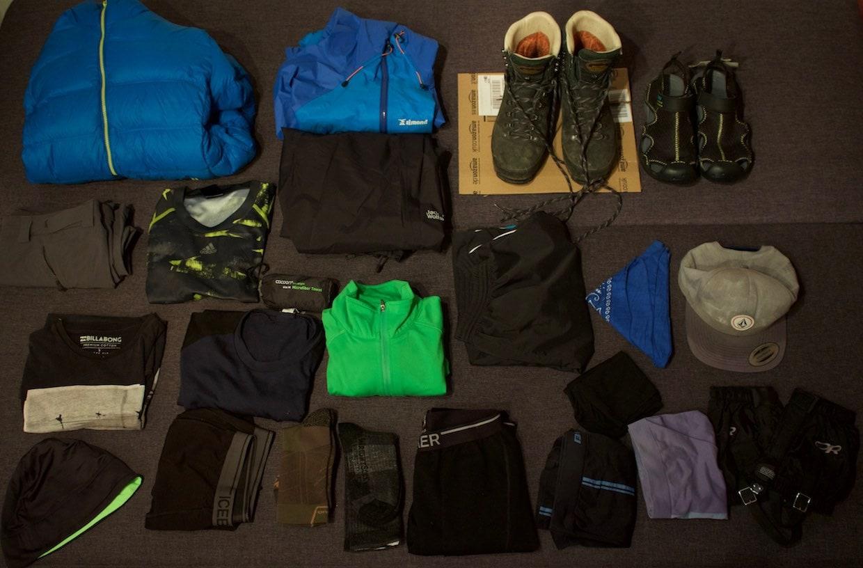 Kleidung 2 Te Araroa Packliste