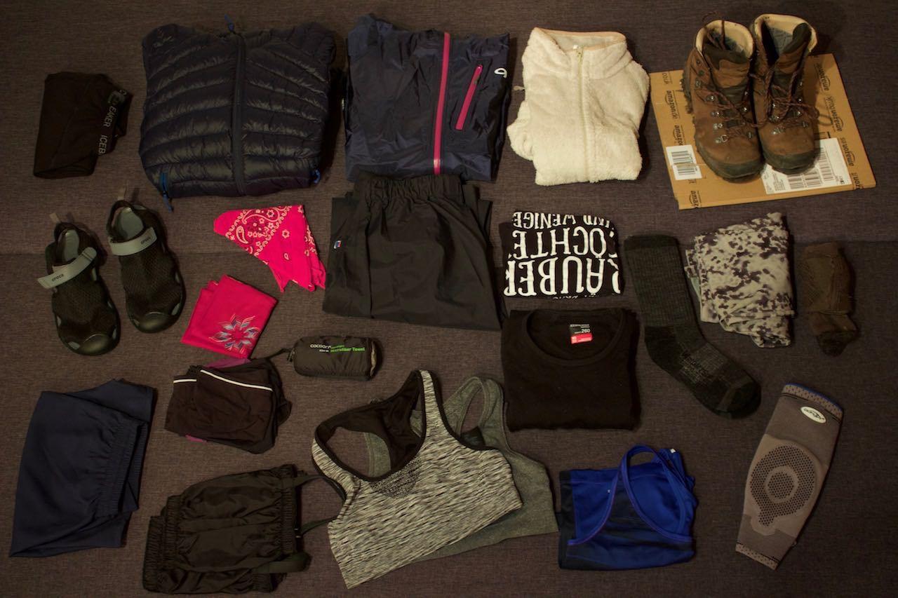 Kleidung Te Araroa Packliste