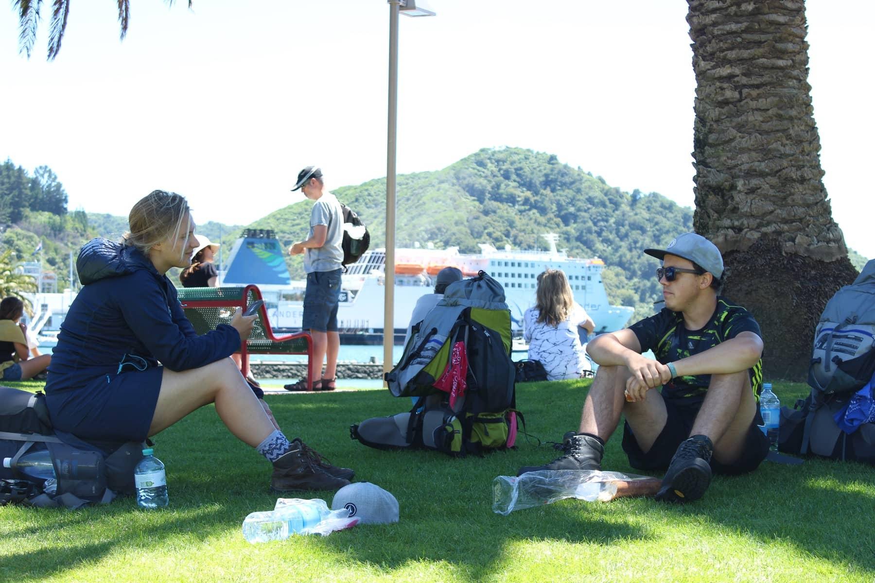 Picton Te Araroa Fernwanderung Neuseeland