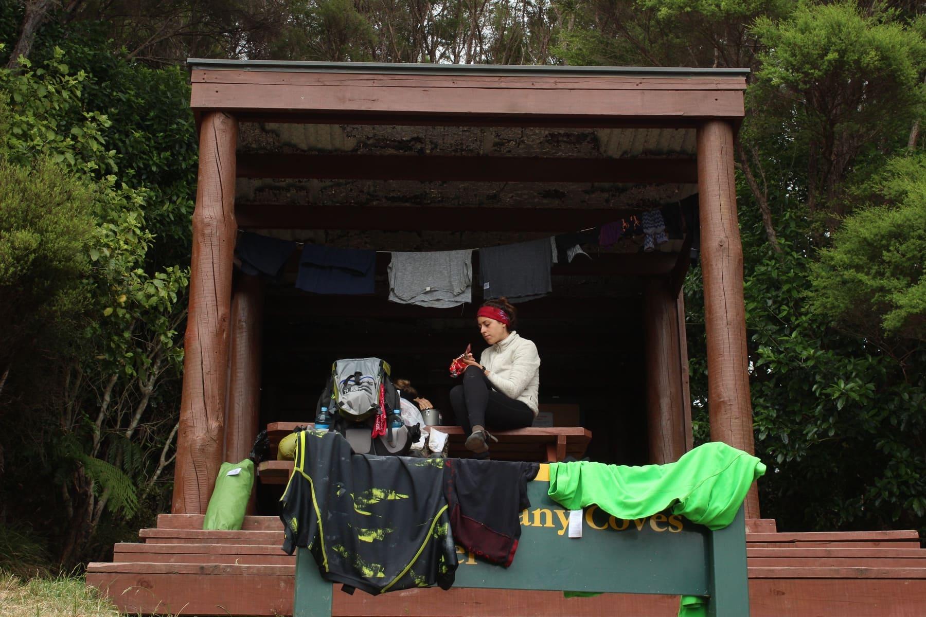 Shelter Te Araroa Neuseeland Fernwanderung