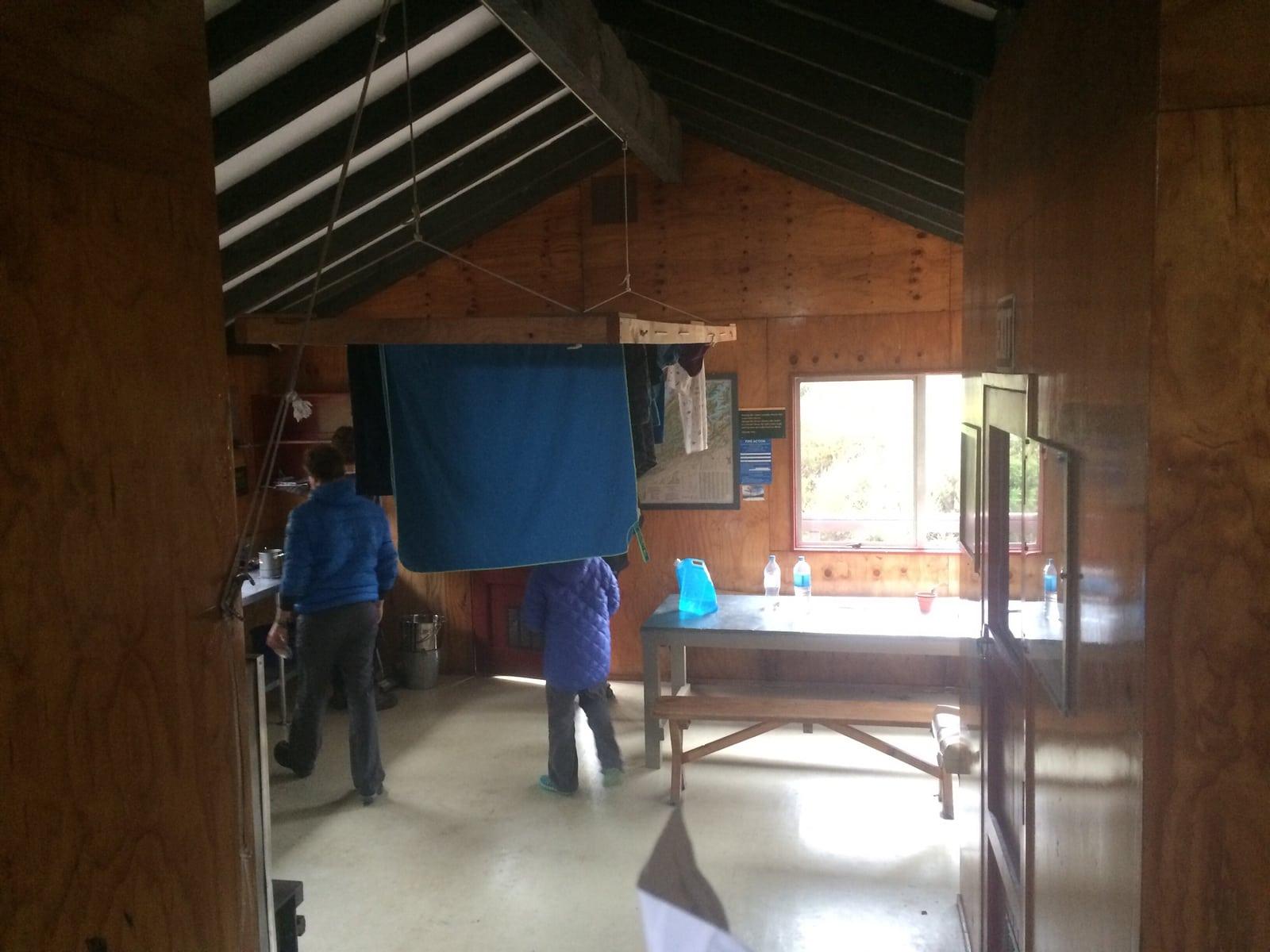 Hütte Neuseeland Te Araroa