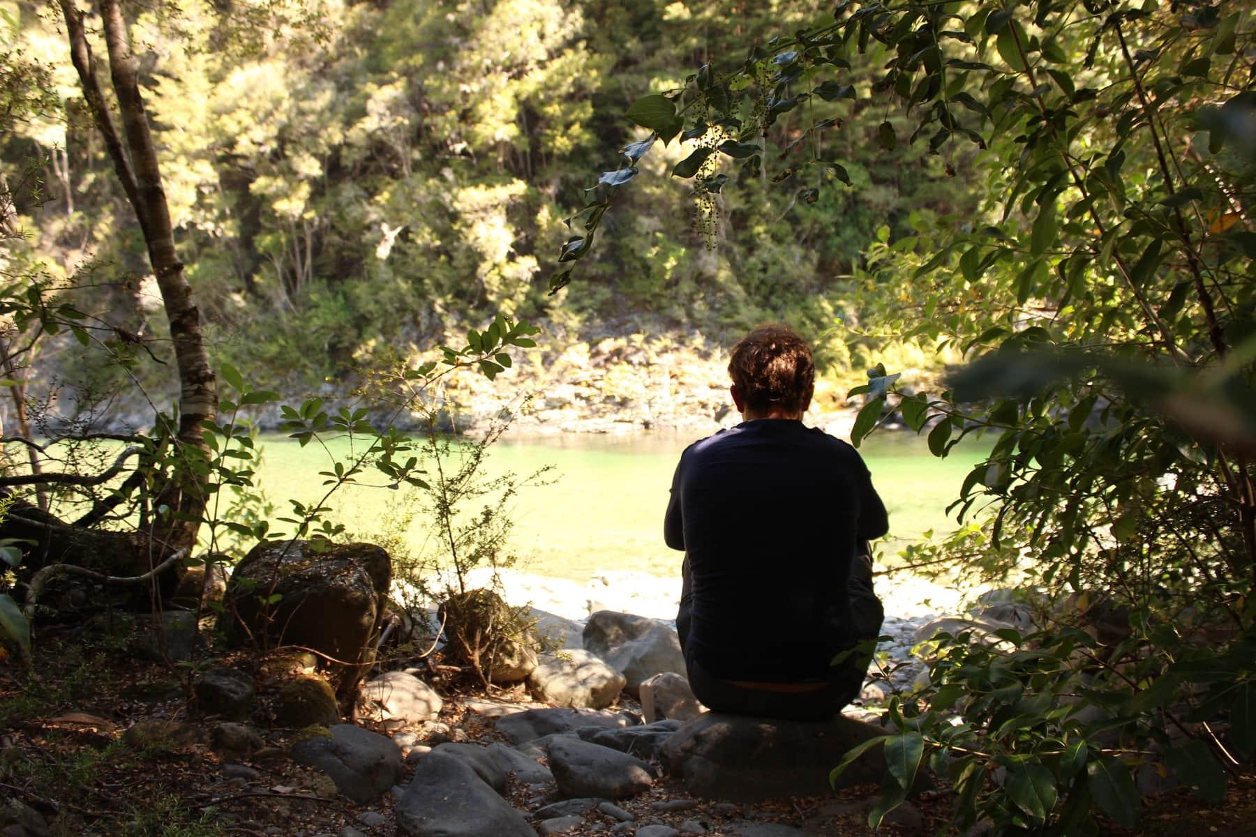 Fluss Neuseeland Te Araroa