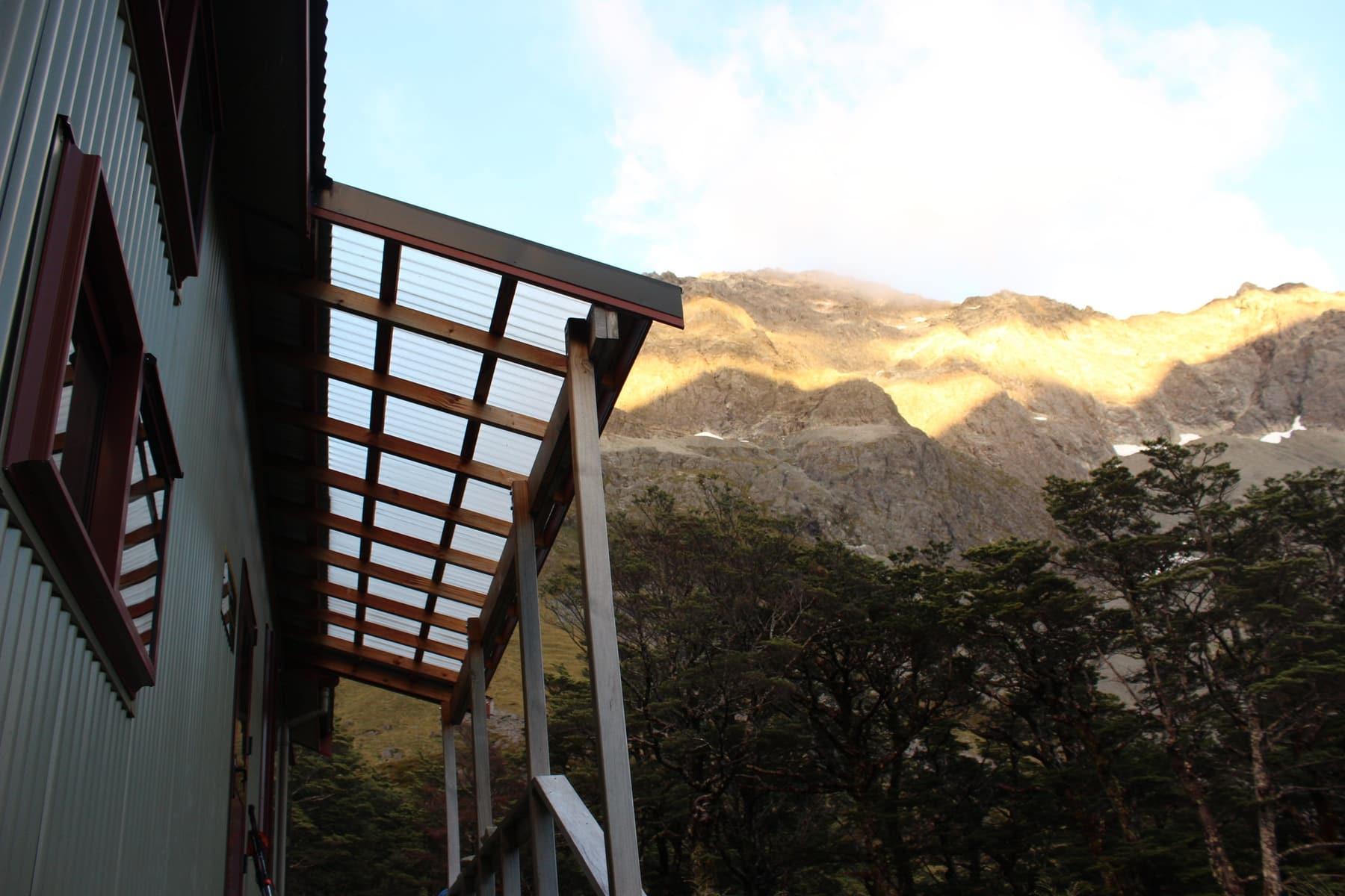 Upper Traverse Hut Te Araroa Neuseeland