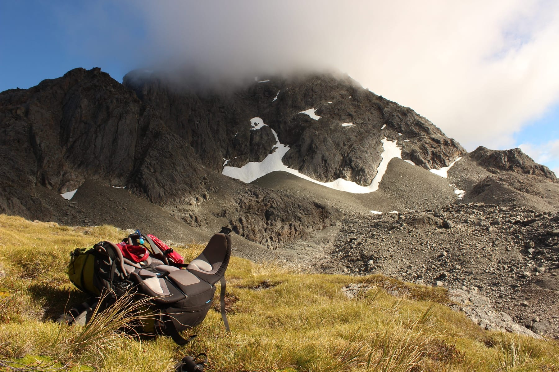 Traverse Saddle Te Araroa Neuseeland