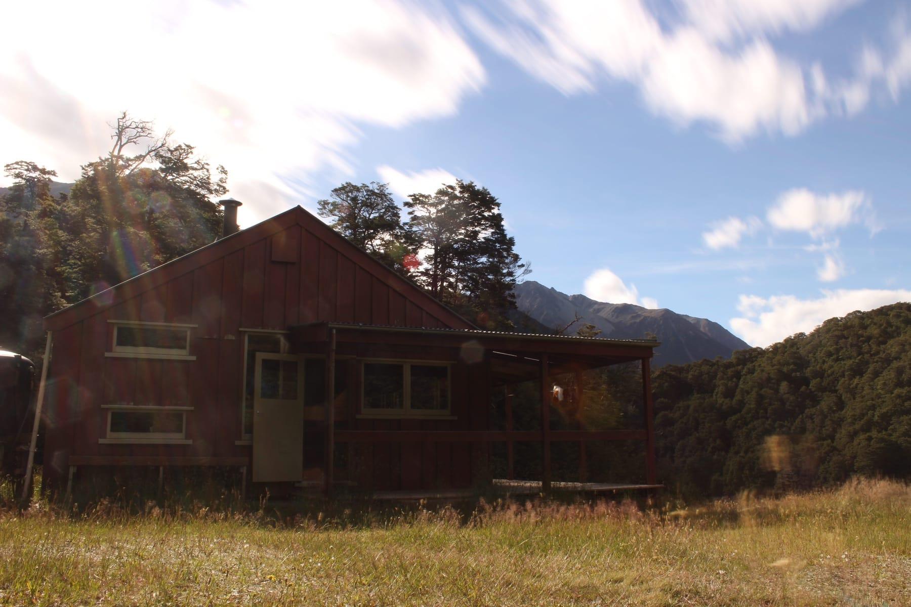 Hütte Te Araroa Neuseeland