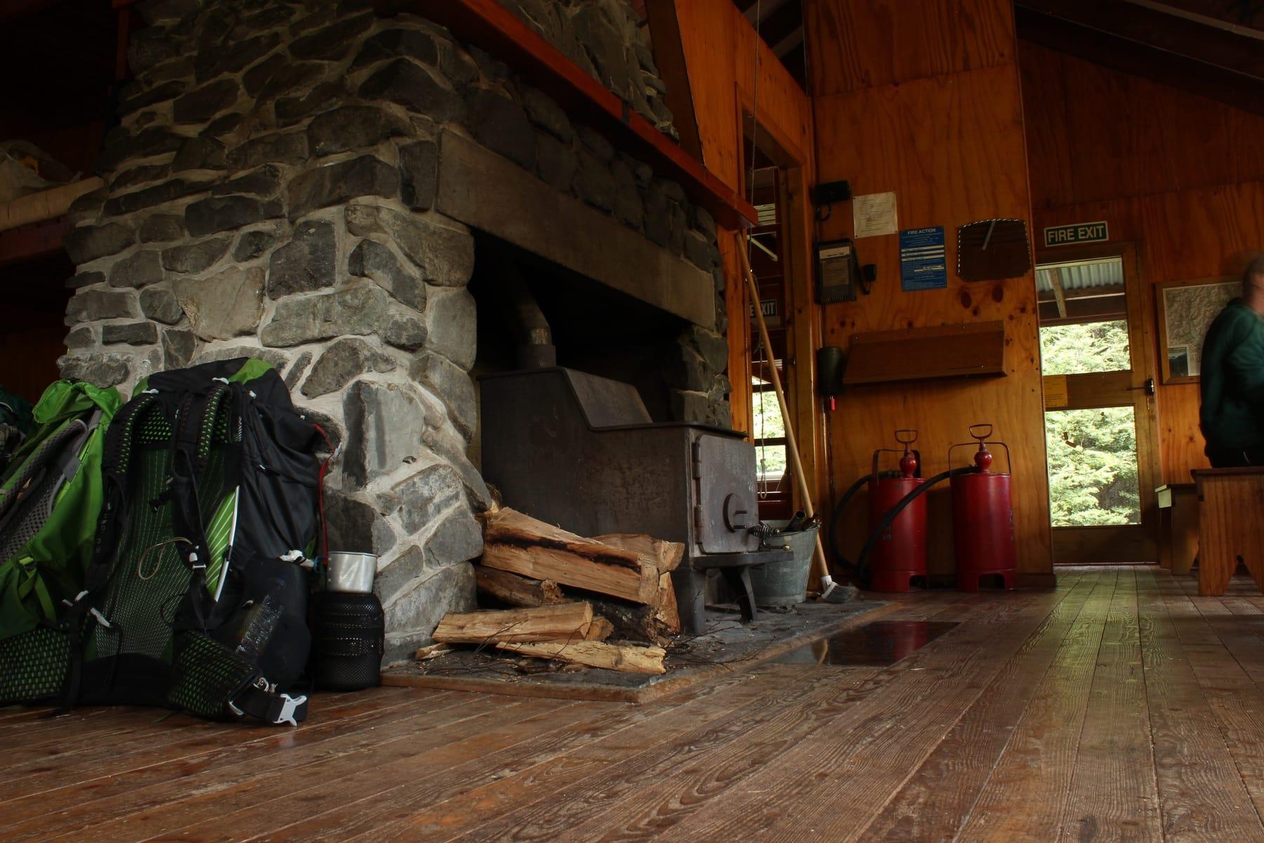 Berghütte Te Araroa Neuseeland