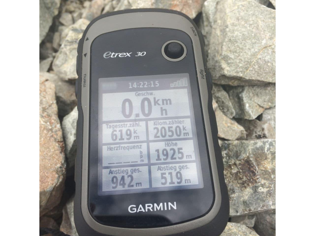 Sicherheit auf dem Te Araroa GPS Gerät