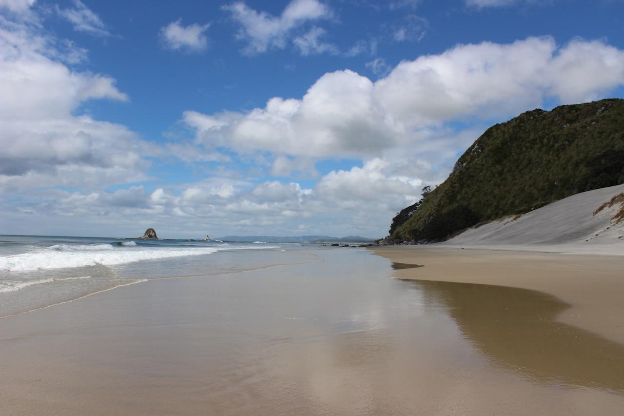 Must do Neuseeland: verlassener Strand