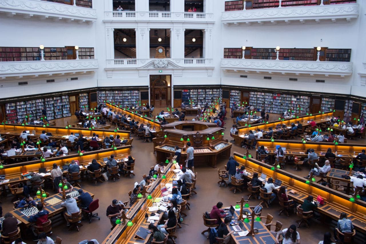 kostenloser Eintritt State Library of Victoria