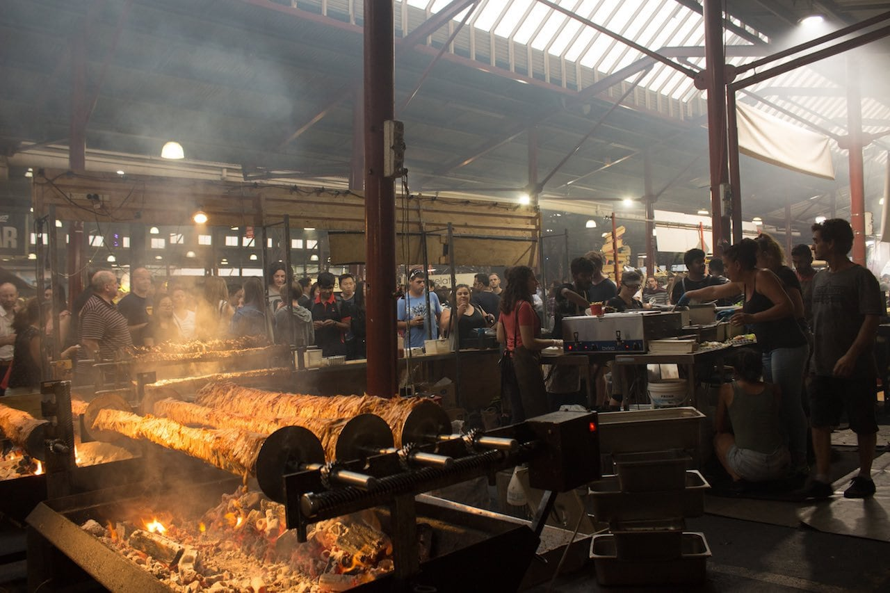 kostenloser Victoria Markt in Melbourne