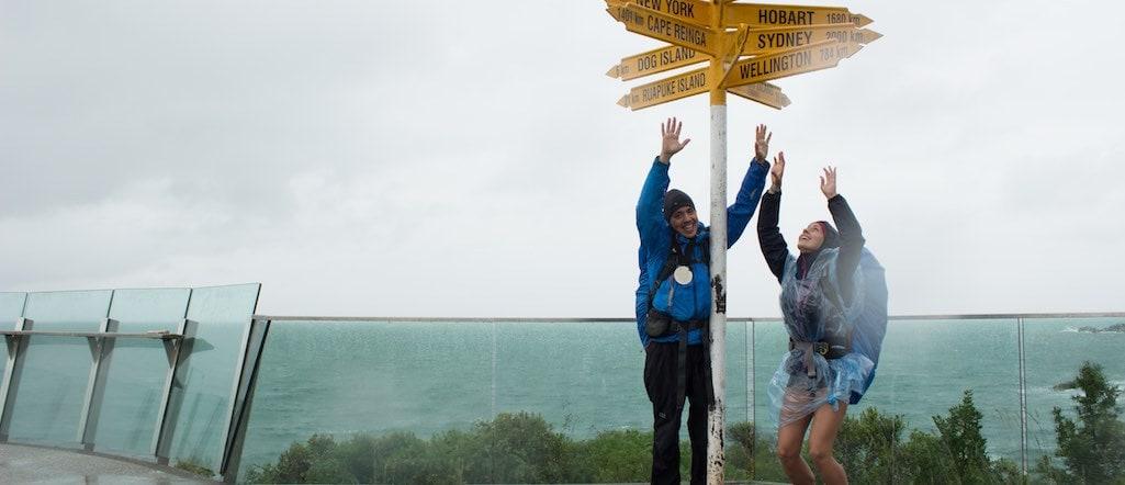 Te Araroa Ziel erreicht Neuseeland Fernwanderung