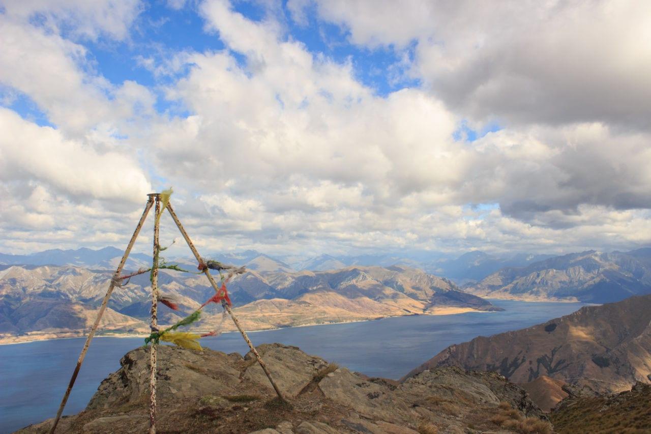 Wanderwege Neuseeland Breast Hill