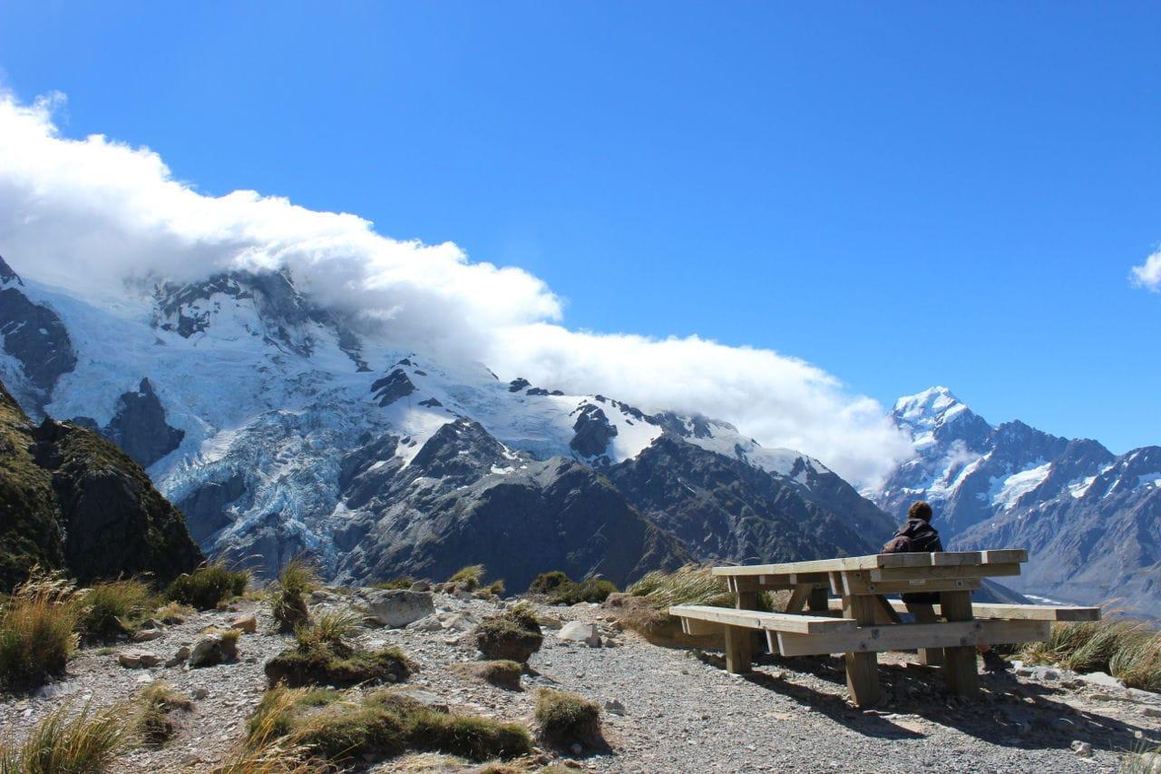 Wanderwege Neuseeland Sealy Tarns