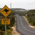 Straße Australien
