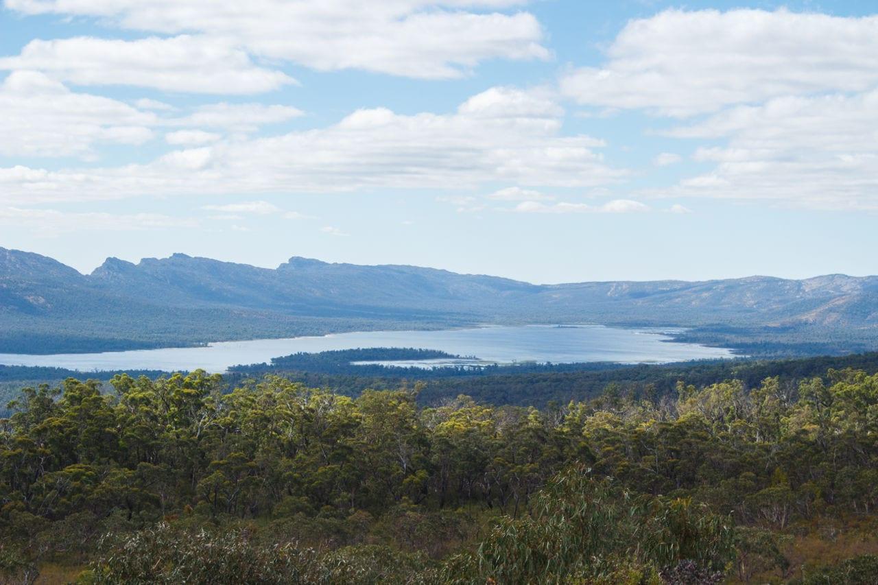 Grampians Aussicht Route Victoria Australien