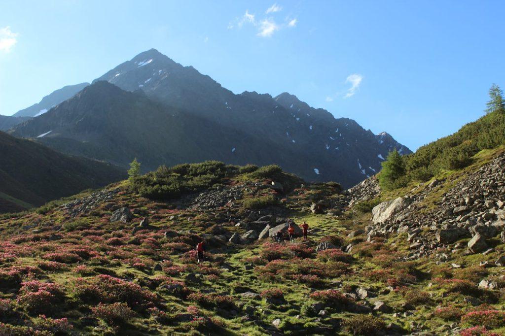 Sonnenaufgang Alpenüberquerung L1