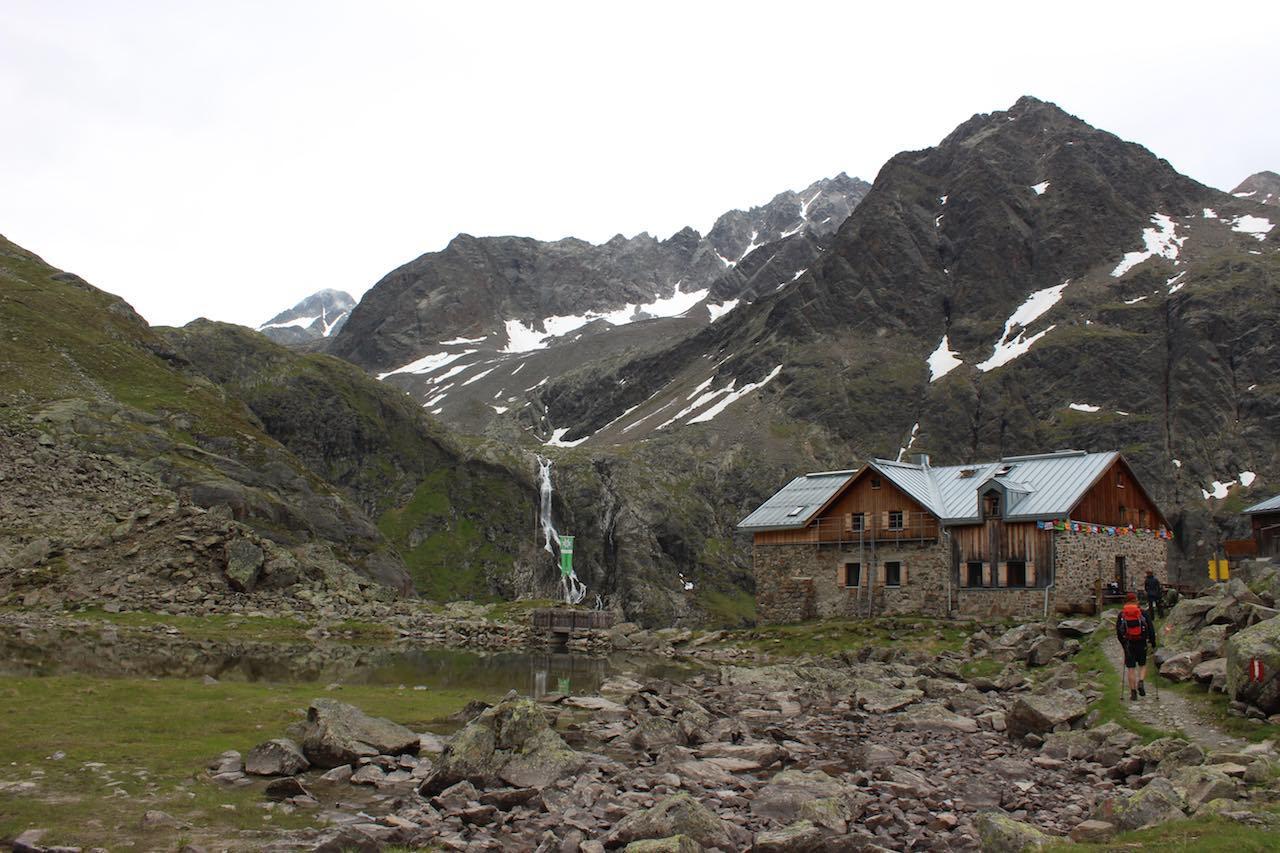 Winnebachseehütte Alpenüberquerung L1