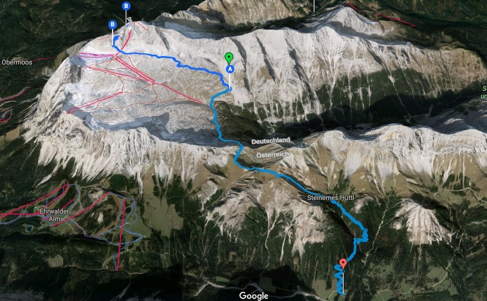 L1 Alpenüberquerung Knorrhütte zur Tilfußalm