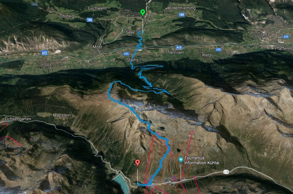 L1 Alpenüberquerung Obermieming zur Dortmunder Hütte