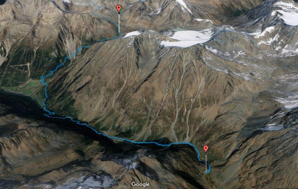 Alpenüberquerung L1 Winnebachsee- Hütte zur Amberger Hütte