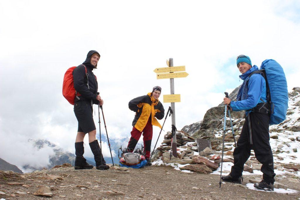 Finstertaler Scharte Alpenüberquerung L1