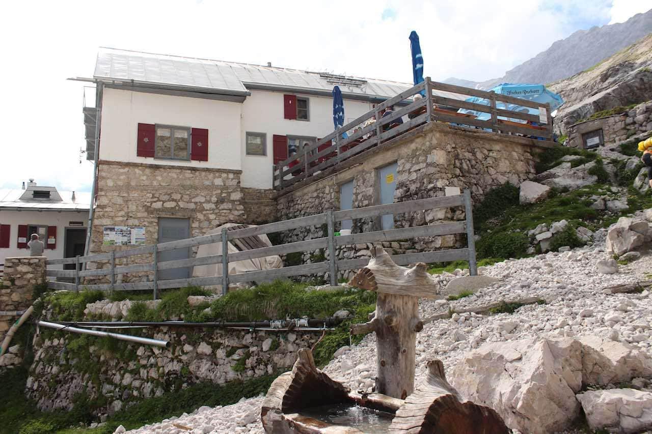 Knorrhütte Alpenquerung