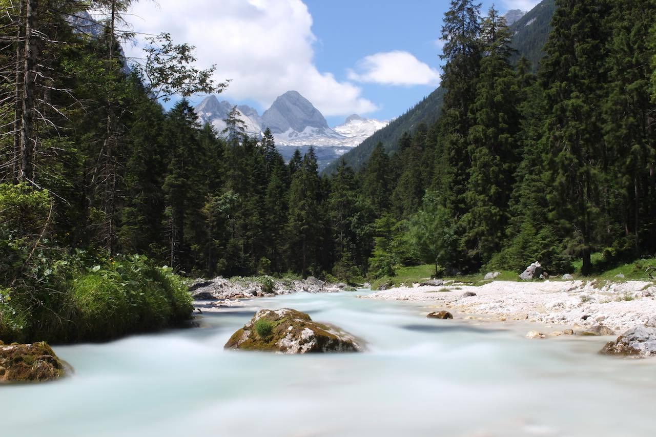Mittagspause Bild Alpen