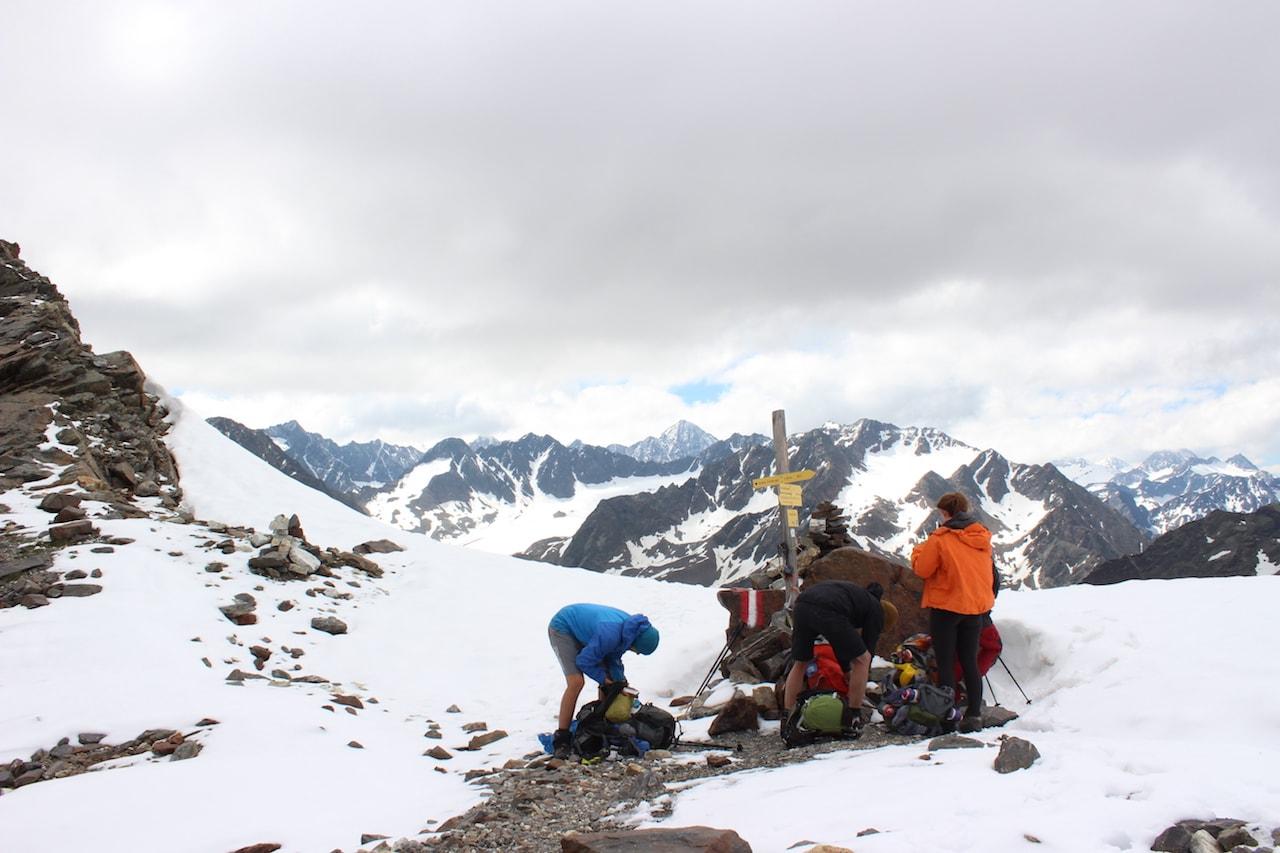 Zwieselbachjoch Alpenüberquerung