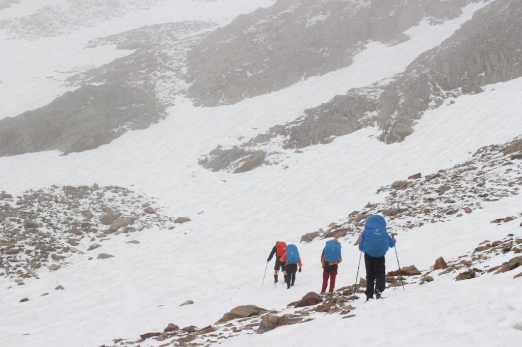 Schneefelder Alpen