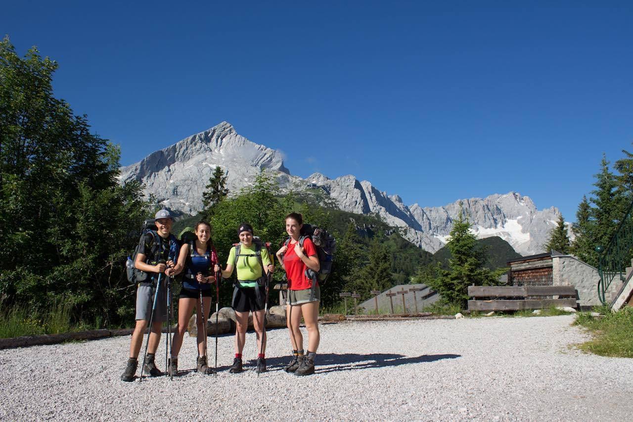 Tag 1 Alpenüberquerung