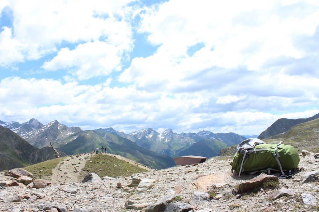 Timmelsjoch Alpenüberquerung