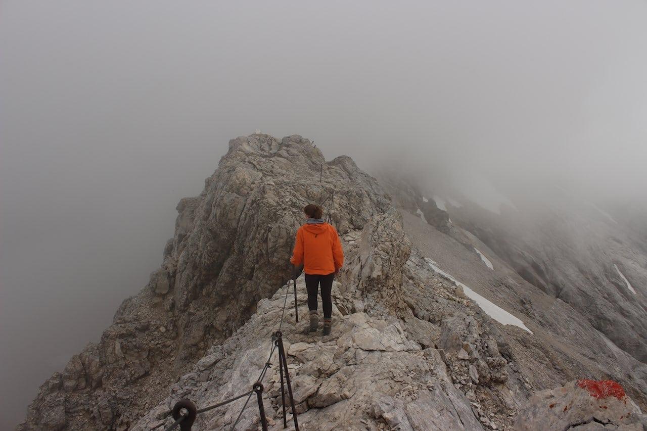 Seilversicherung Zugspitze