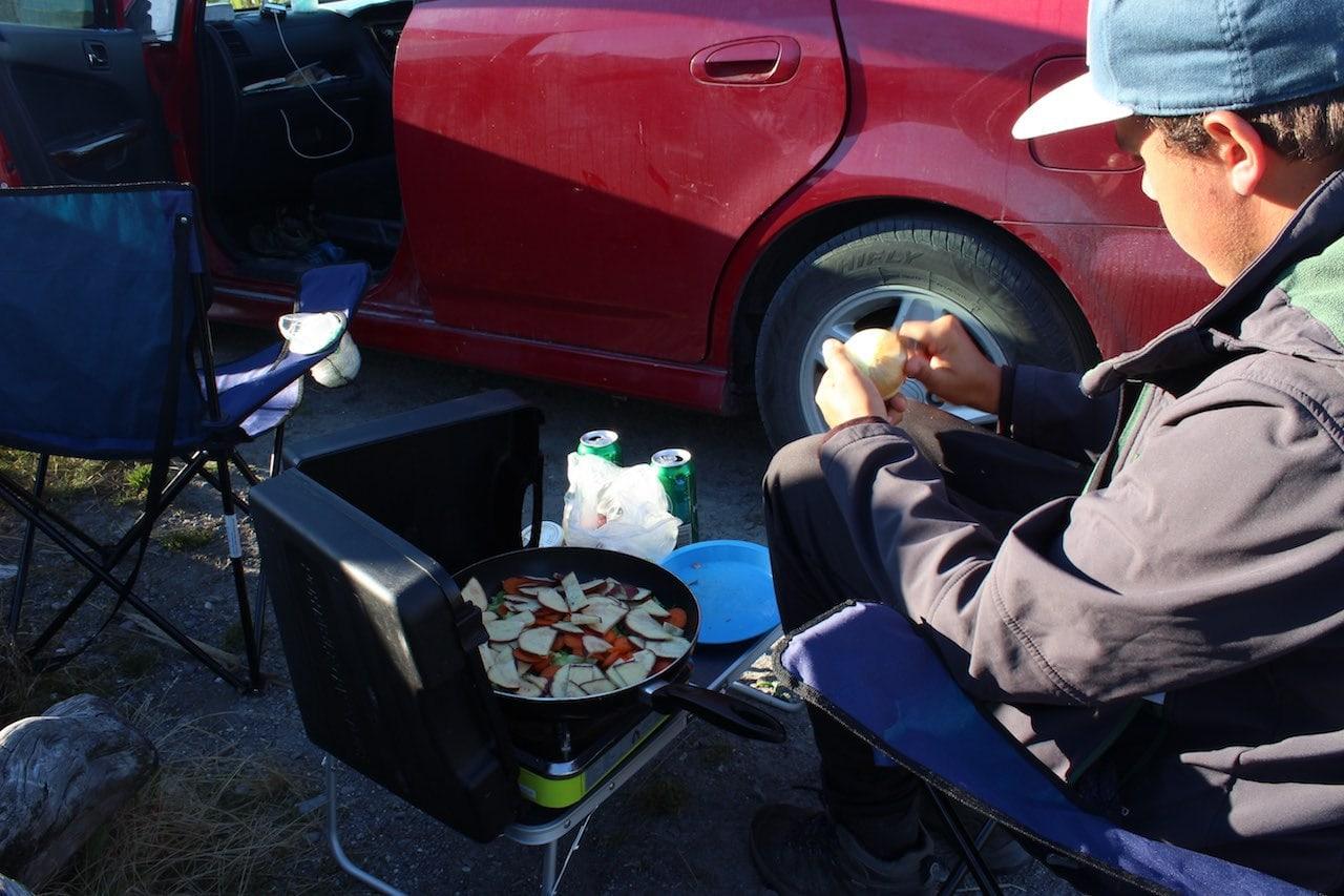 Camping Neuseeland Verpflegung