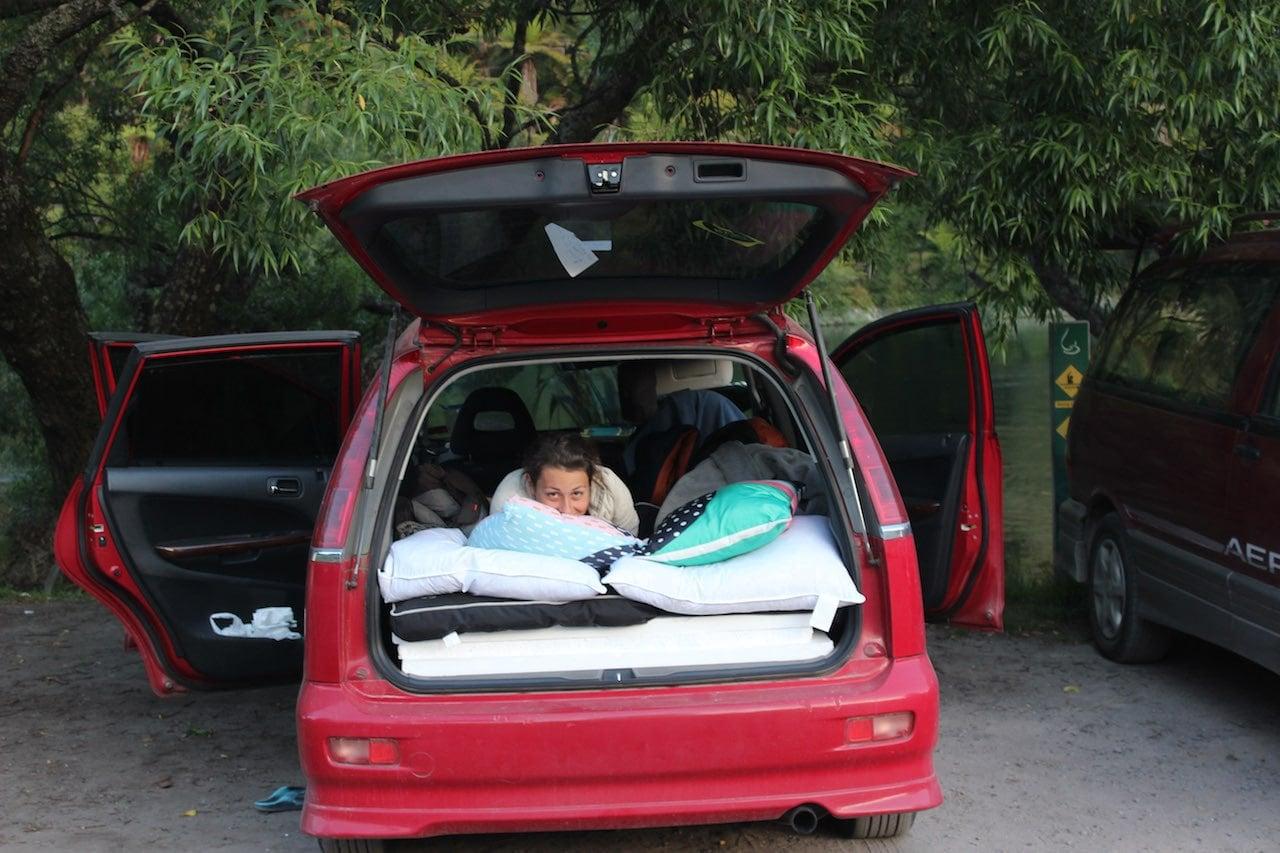 Camping Neuseeland Miri