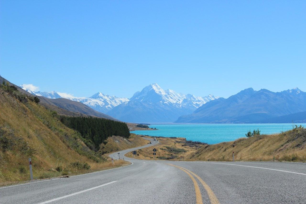 Fotospots Neuseeland Mount Cook