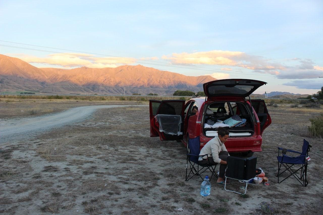 Titelbild Camping Neuseeland
