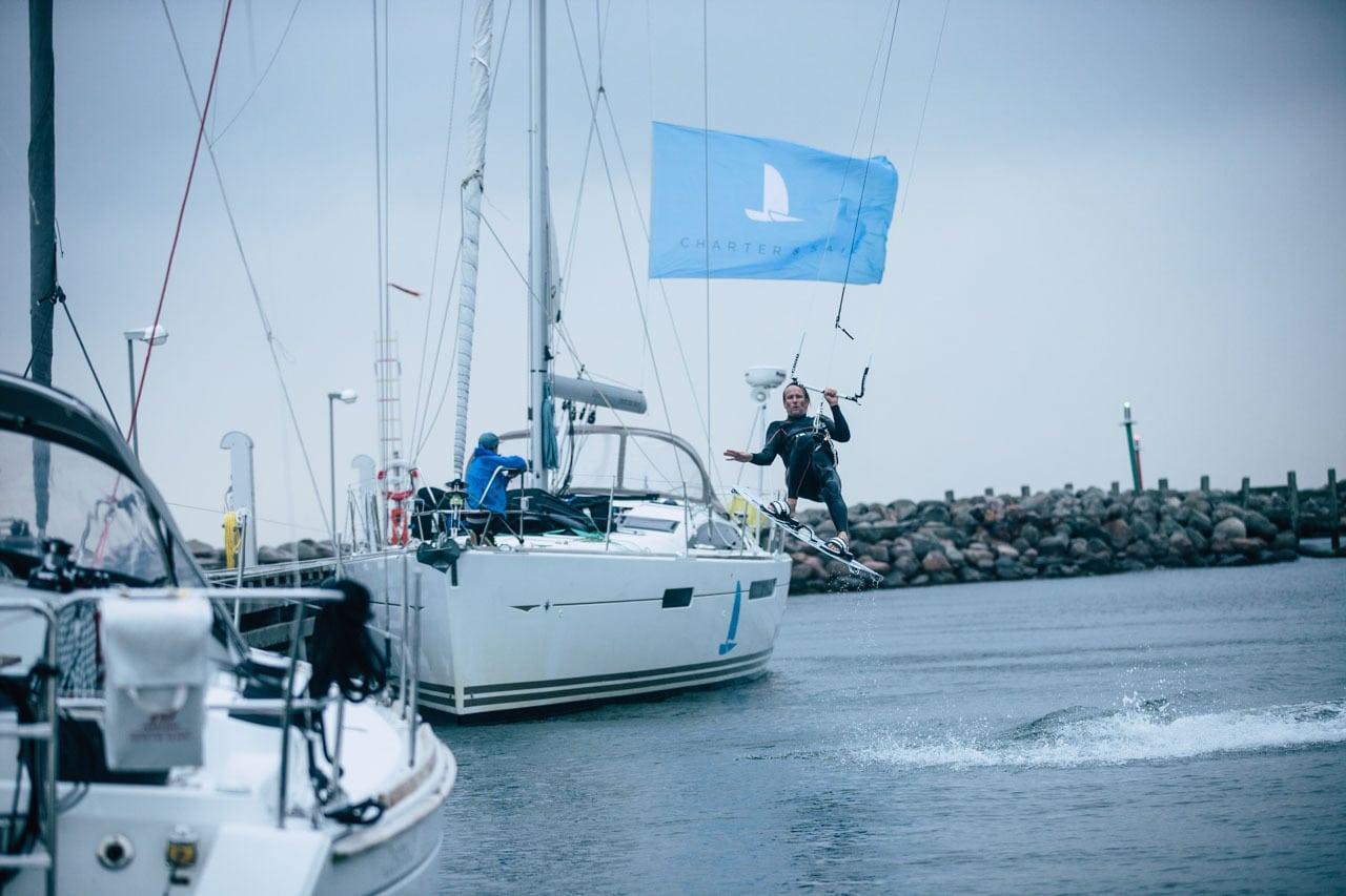 Segeln und Kitesurfen Ostsee
