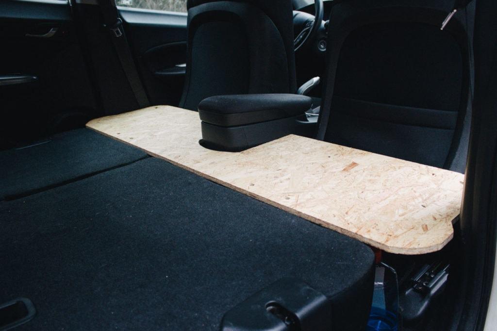 Auto als Camper ausbauen Minicamper Liegefläche