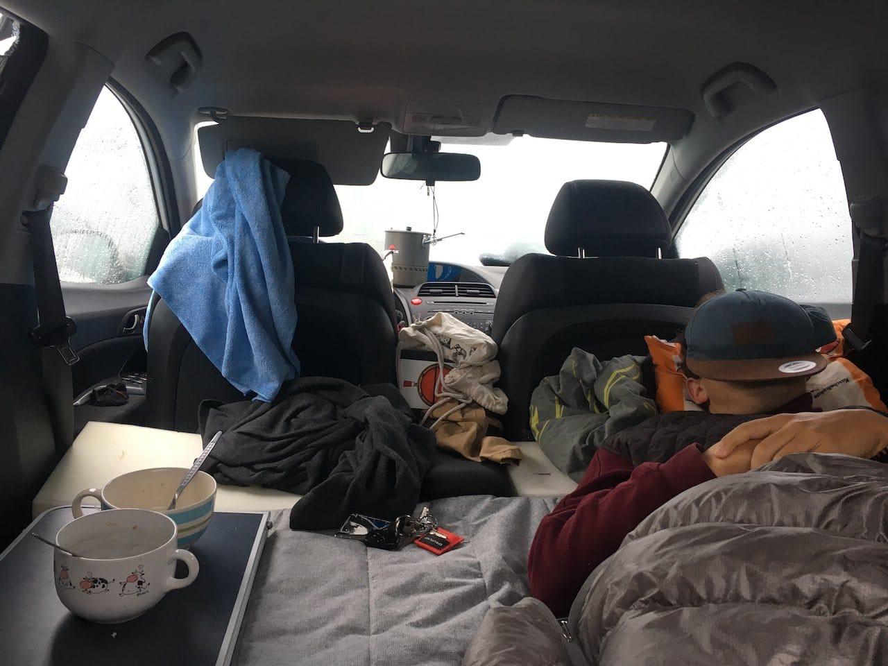 Camperlife im Minicamper