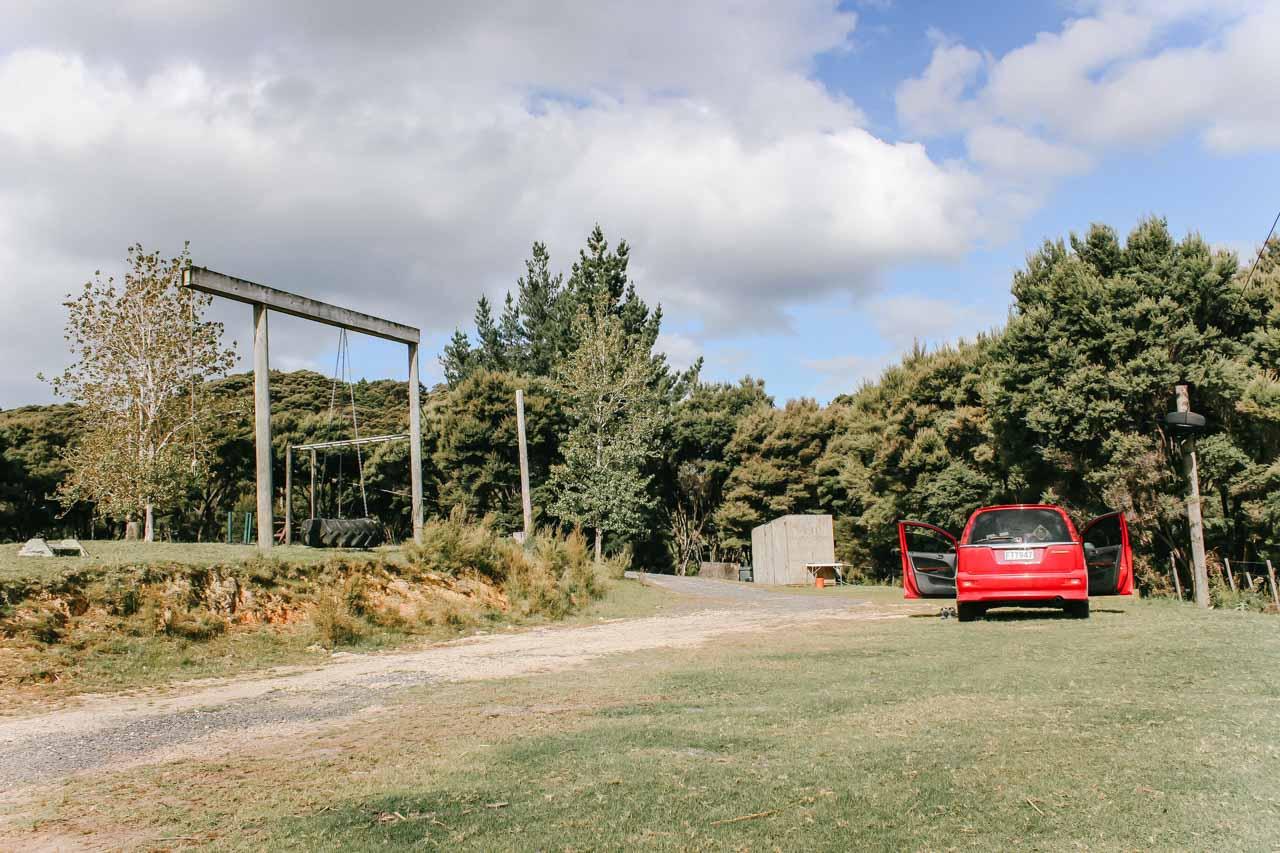 Russel Campingplatz Neuseeland Nordinsel