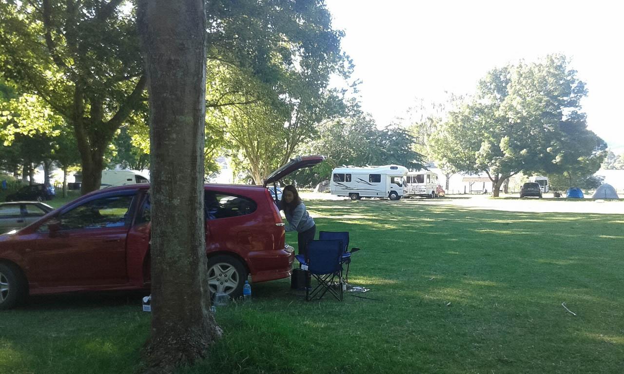 Lake Tutira Campsite Neuseeland Campingplätze
