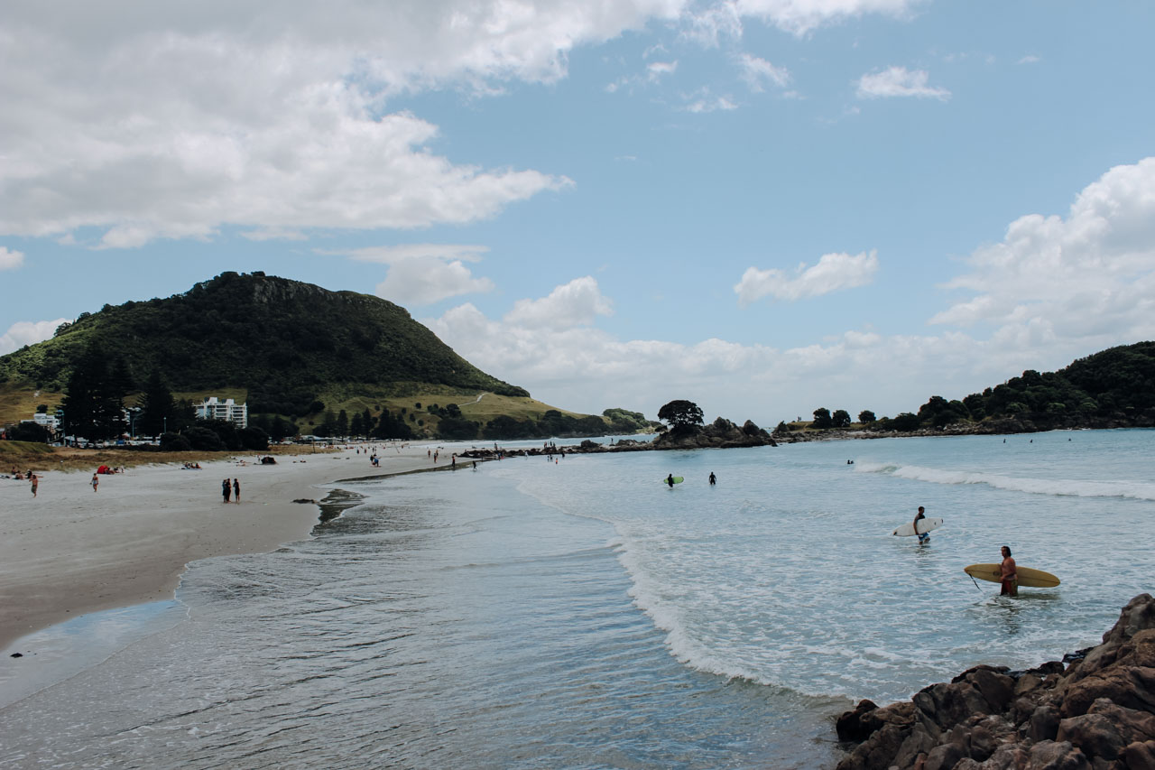 Surfen in Mount Maunganui