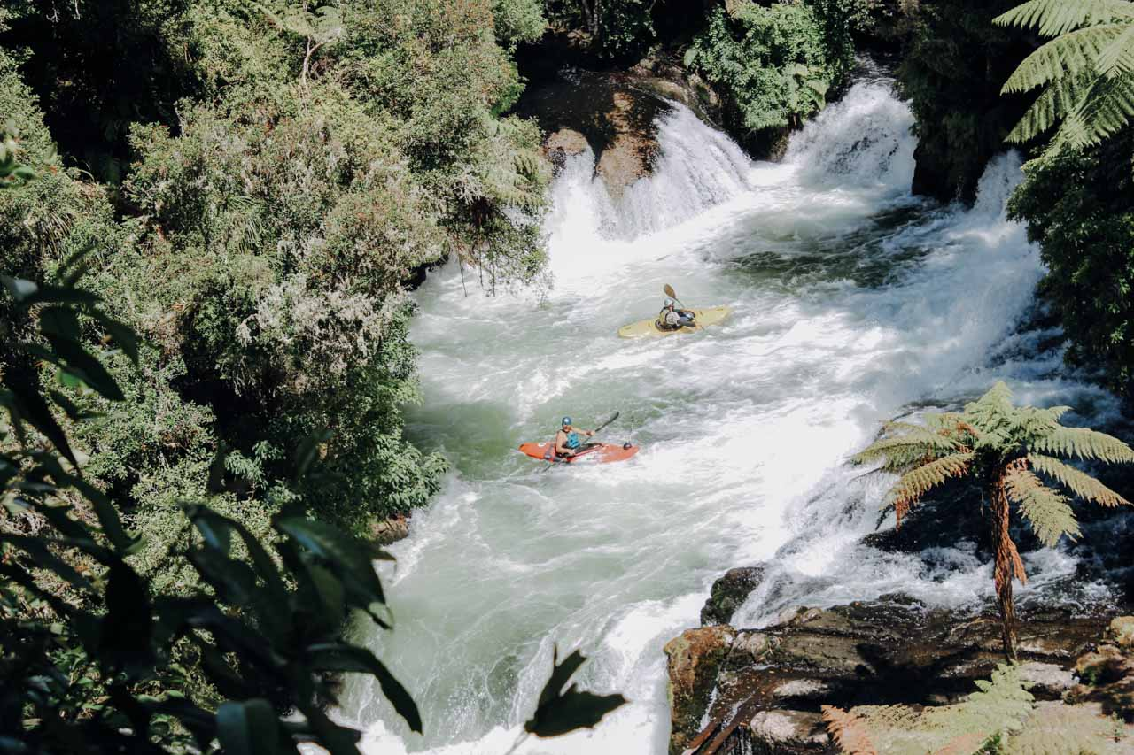 Whitewater rafting Kaituna River Kayak & Rafting