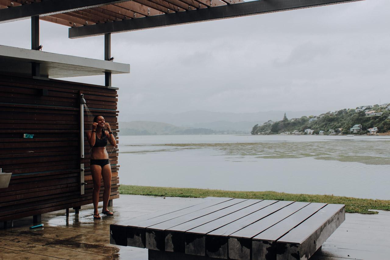 kostenlose Duschen Neuseeland