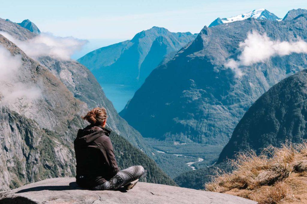 Gertrude Saddle Wanderung Roadtrip Neuseeland