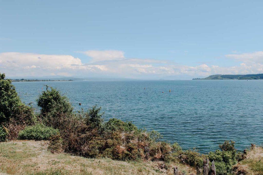 Lake Taupo Aussicht