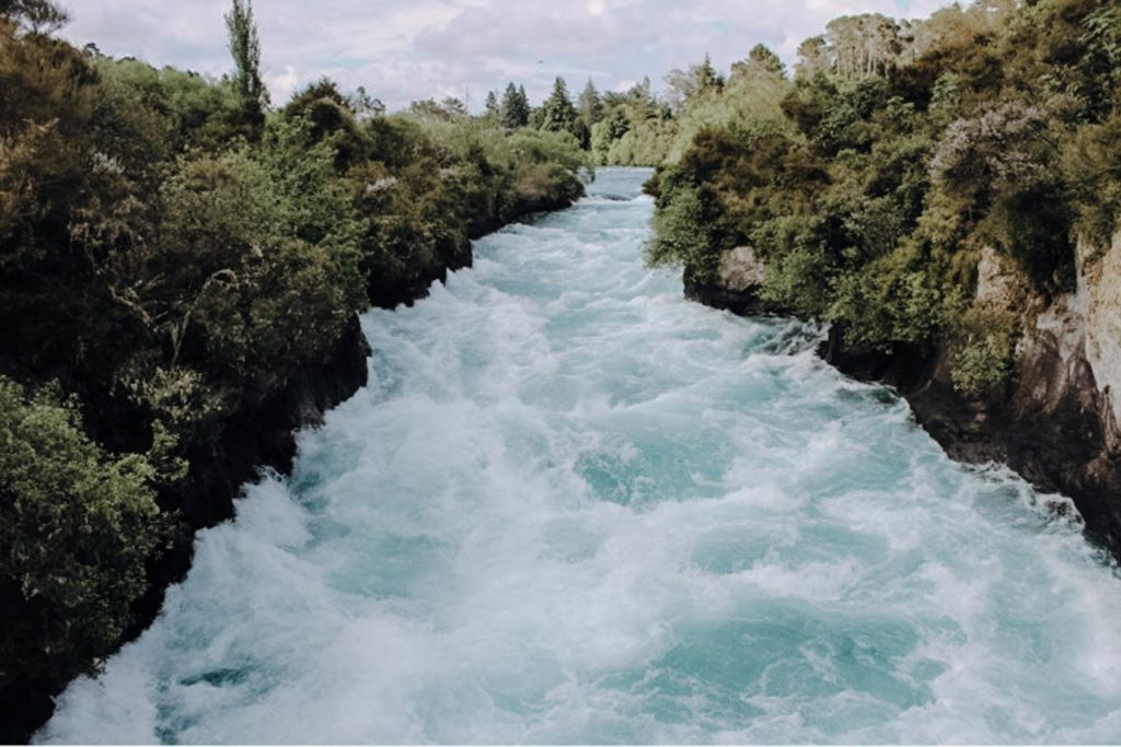 Huka Falls Bild