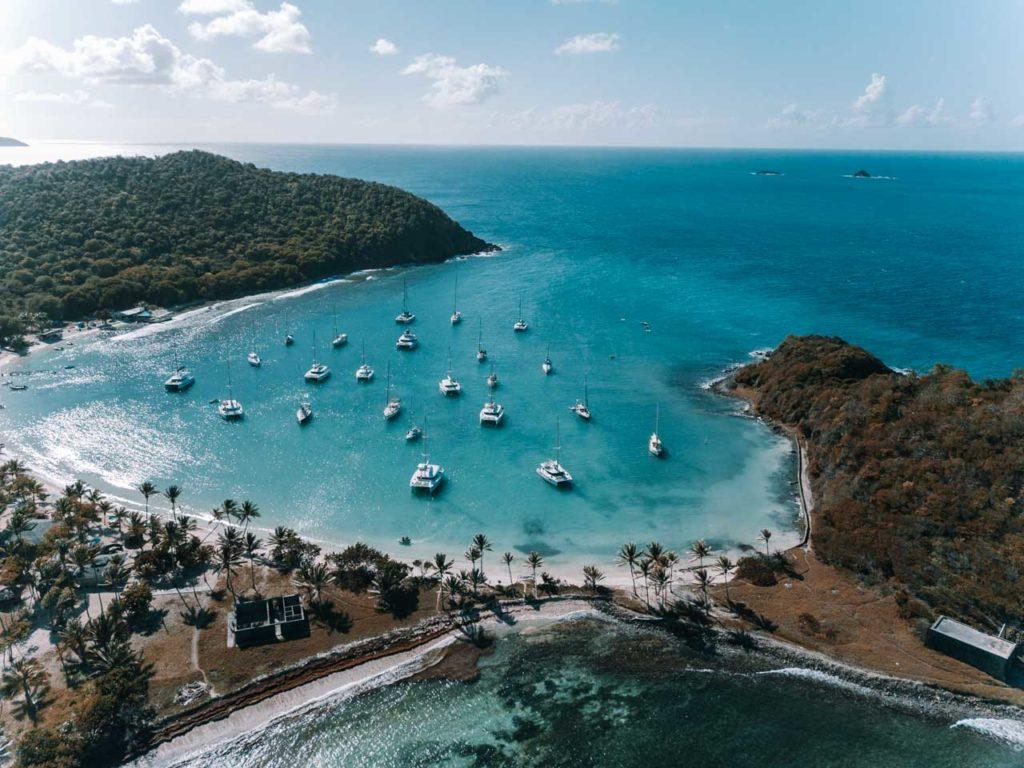 Bucht Karibik Segeln