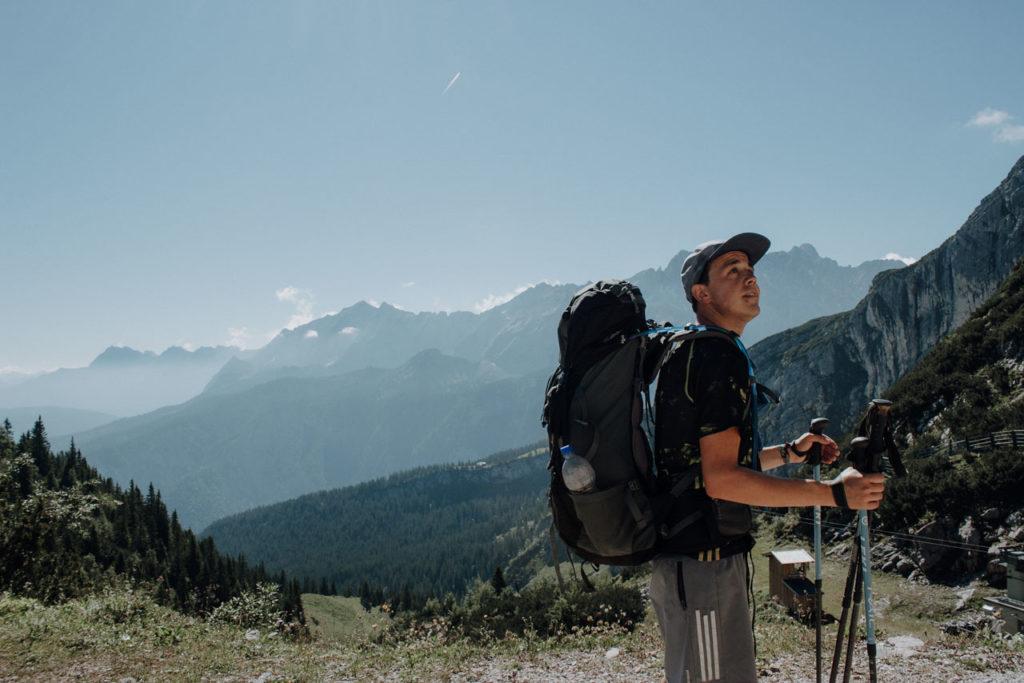 Wanderung von Garmisch zum Kreuzeckhaus