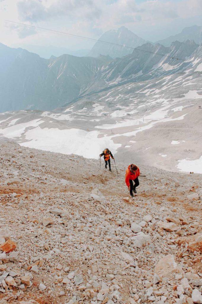 Wanderung und Aufstieg zur Zugspitze
